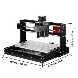 Image 3 - לייזר חרט CNC לייזר חרט CNC לייזר חותך חריטת מכונת לייזר מדפסת DIY 3 ציר Pcb מכונת כרסום