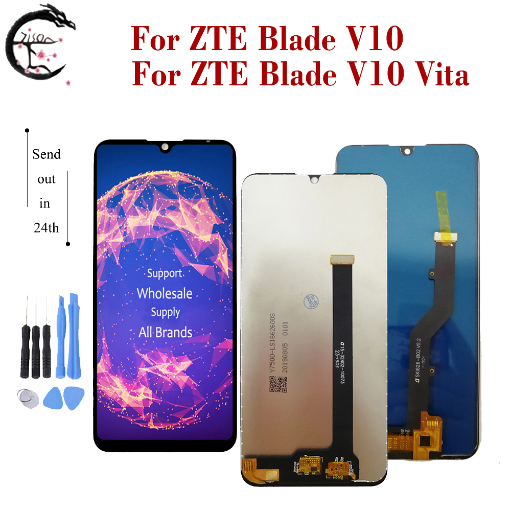 New LCD For ZTE Blade V10 / V10 Vita LCD Display Screen Touch Panel Sensor Digitizer Assembly Replacement V10vita Display Tools(China)