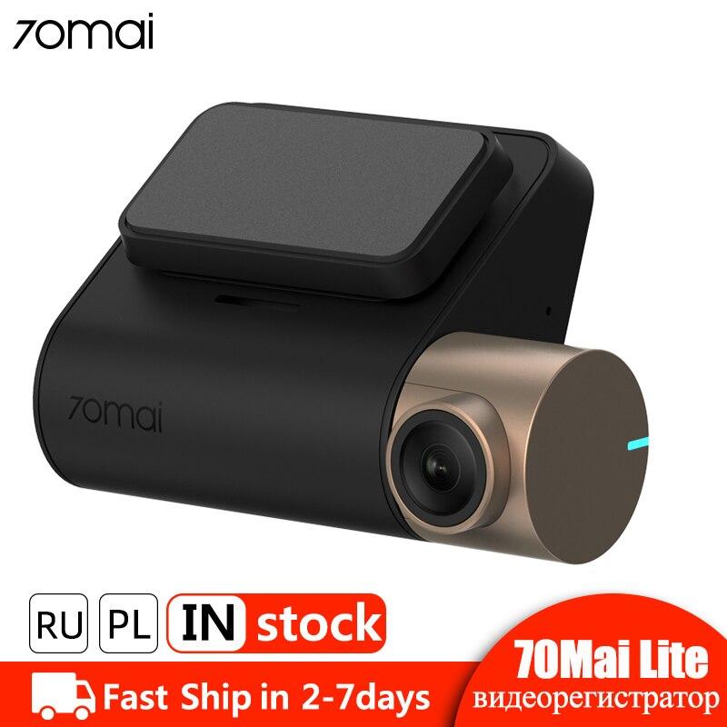 70mai traço cam lite gps módulo velocidade coordenadas carro dvr câmera wi-fi 24 h monitor de estacionamento 1080 p hd 70mai dashcam gravador vídeo