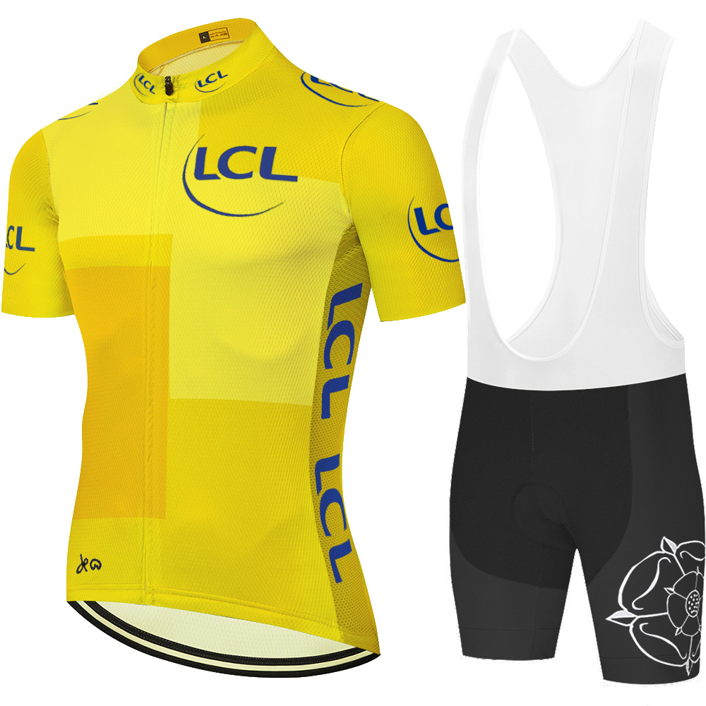 New de france Cycling Jersey Breathable Team Racing Sport Bicycle Jersey ropa ciclista hombre bike shorts Cycling Sets     - title=