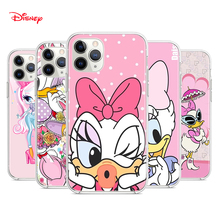 Silicone Cover Disney Daisy Duck For Apple IPhone 12 Mini 11 Pro XS MAX XR X 8 7 6S 6 Plus 5S SE Phone Case