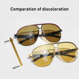 Image 3 - CAPONI الفاخرة مصمم النظارات الشمسية الرجال فوتوكروميك موضة القيادة نظارات الذكور الاستقطاب البني الرجال نظارات شمسية UV400 BSYS8606