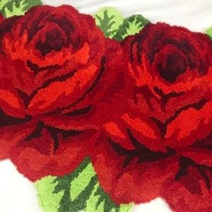 Image 2 - Nuovo arrivo di trasporto che si affolla mat arte tappeto rosa tappeto per la decorazione domestica di colore rosa rosso blu viola