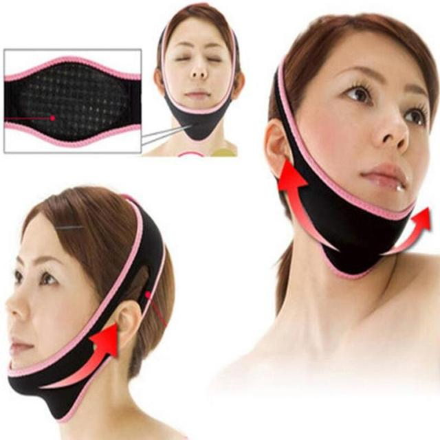 Korean Elastic Face Mask V Face Artifact Thin Face Shaping Lifting Firming To Remove Double Chin To Reduce Wrinkles 4