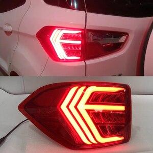 Image 5 - CSCSNL 2Pcs LED TailLight For Ecosport 2013 2019 Tail Lights Fog lamp Rear Lamp DRL+Brake+Park+Signal Bulb Decoration Lamp