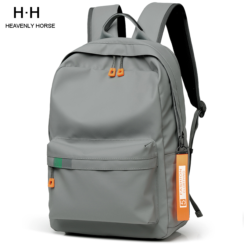 2020 New Arrival 14 16 Inch Male Mochila For Men Fashion Trend School College Casual Bag Male Simple Travel Student BackpackS