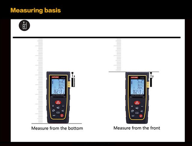 laser distance meter 40M 60M 80M 100M 120M 150M Laser rangefinder laser tape range finder measure metro tape 3