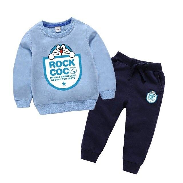 2020 Kids Chocoolate Mickey New Year Cartoon Thick Hoodie Outwear Sweatershirt