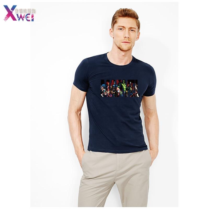 MARVEL T-Shirt 2020 Neue Mode Männer Baumwolle Kurzen Ärmeln Casual Männlichen T-shirt Marvel T Shirts Männer Frauen Tops Tees S -xxxl