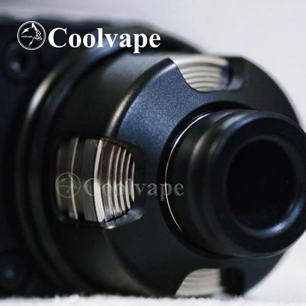 Coolvape Armor Mods Engine Rda With Bf Pin 316 Ss 22mm Replaceable Airflow Adjustable Control Single Coil Deck Vs La Dripper Rda
