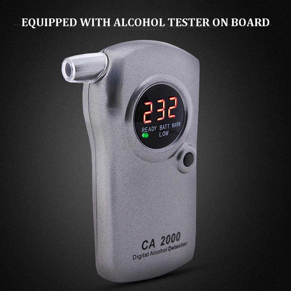 Alcohol Tester Blowing Air Ca2000 Measuring Drunk Driving Concentration Measuring Instrument Drunk Driving Alcohol Tester