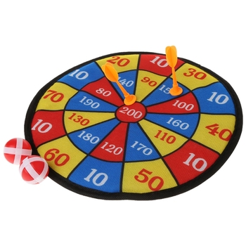 Sports Toys Fabric Dart Board Set Kid Ball Game For Children Security Toy GXMB image