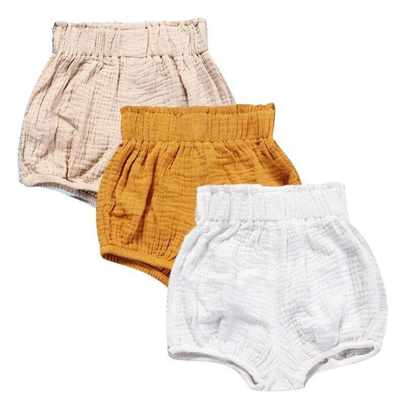 Cute Newborn Baby Boy Girl Cotton Bottom Infant Briefs PP Pants Diaper Cover Panties 0-24M
