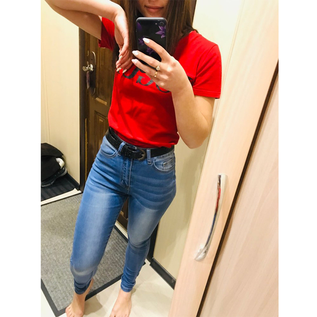 jean jeans for women with high waist pants for women plus up large size skinny jeans woman 5xl denim modis streetwear 4