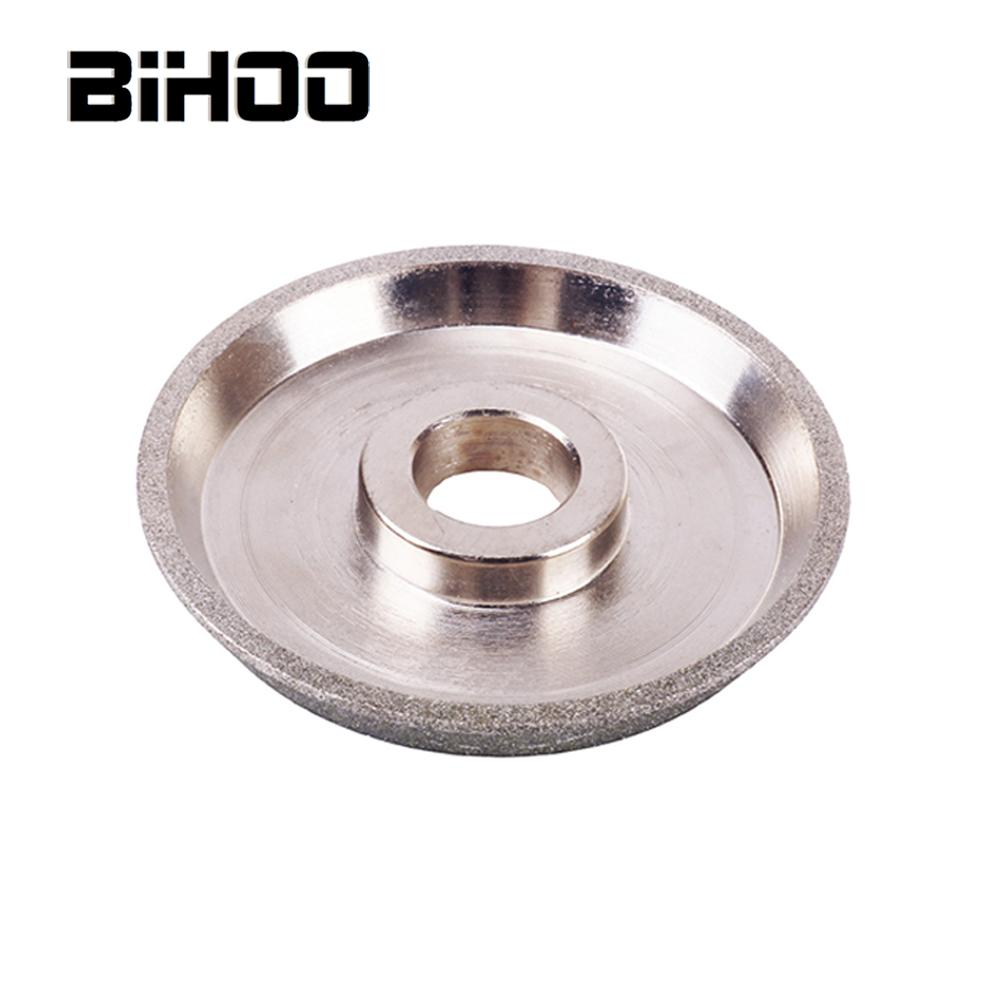 75mm Diamond Grinding Wheel 60 Degrees Cup Type For Carbide Metal Tungsten Steel 1Pc