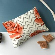Fuwatacchi Чехлы для подушек с геометрических узором спальни