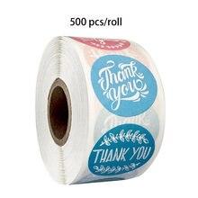 8 видов дизайн персонализированные Спасибо наклейки Печать этикетки