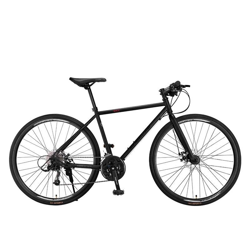 Дорожный велосипед гоночный алюминиевый сплав 27 скоростей взрослый ультралегкий 700c сломанный ветровой переключатель