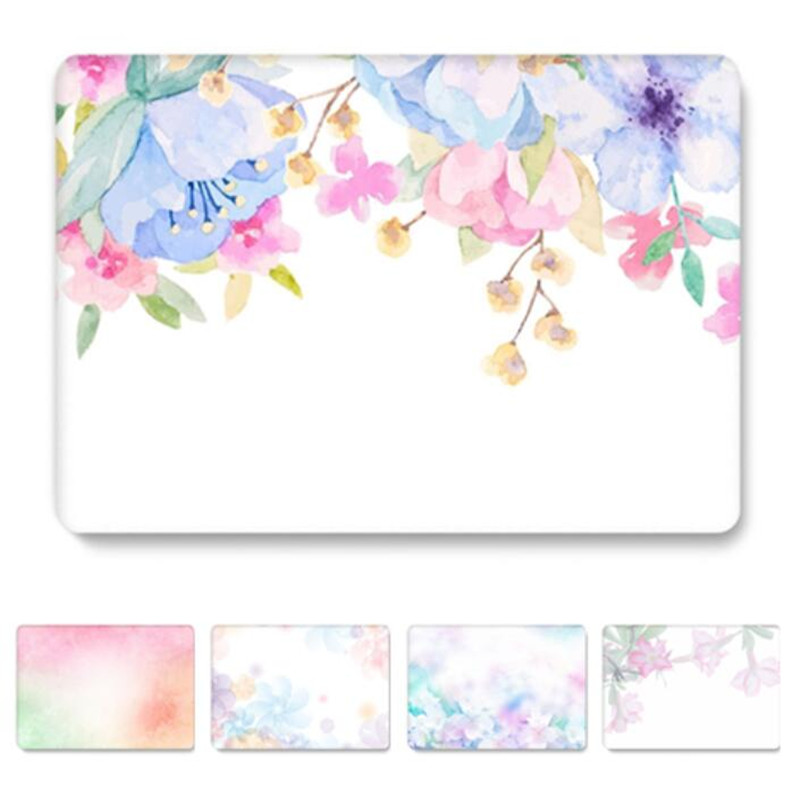 Flower Case For Macbook Air Pro Retina 11 12 13 15 Print Clear Cover For Macbook Air 13 Case A1466 A1932 Pro 13 Inch A1708 A1502