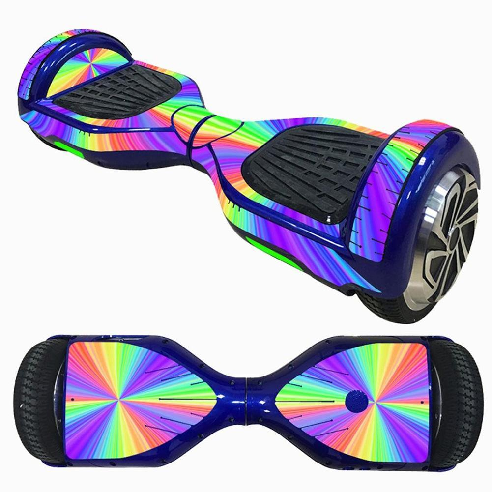 Electric Scooter Sticker Hoverboard For Gyroscooter Sticker Two Wheel Self Balancing Scooter Hover Board Skateboard Sticker