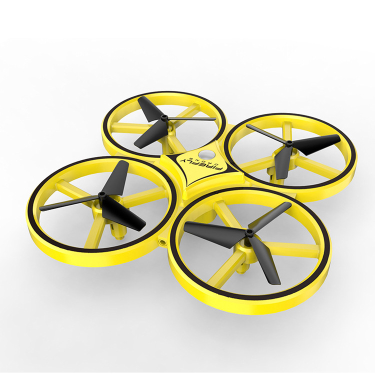 New Products Unmanned Aerial Vehicle Watch Remote-control Four-axis Aircraft Sensing Remote Control Aircraft Infrared Obstacle A
