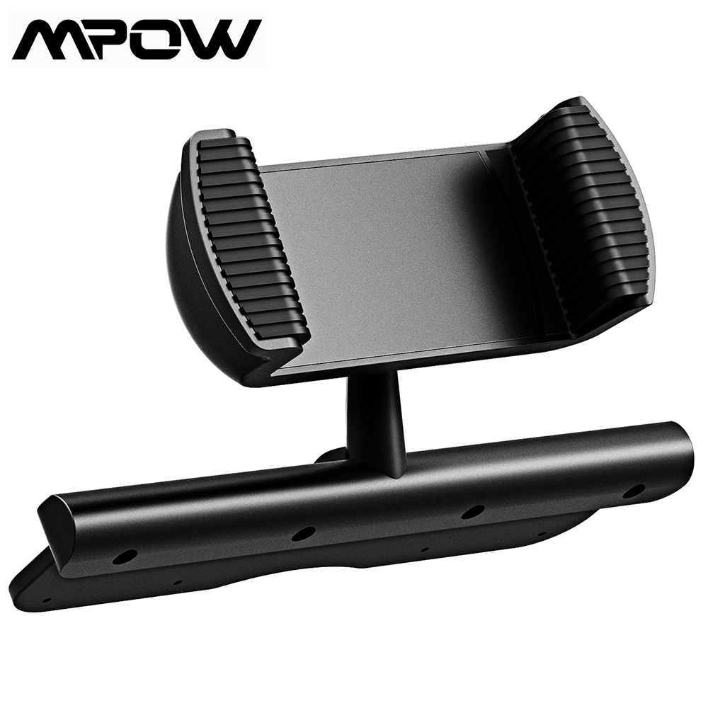 Mpow CD Slot Car Phone Spring Holder 360Degree Rotation Mobile Phone Mount Cradle For IPhone Samsung Xiaomi 4-6 Inch Smartphone