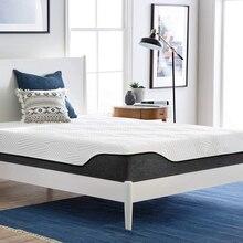 30cm kraliçe yatak Topper lateks köpük bebek yatağı bellek köpük katlanabilir yavaş ribaund bellek yatak tatami aydınlatmalı yatak odası için