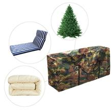 Outdoor Cushion Waterproof Storage Bag Christmas Tree Organizer Home Multi-Function Large Capacity Sundries Finishing Container