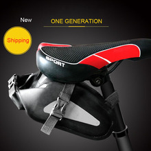 цена на 4L Bicycle Bag Bike Waterproof Storage Saddle Bag Seat MTB Cycling Tail Rear Pouch Bag Bicycle Tail Bags Saddle Accessories