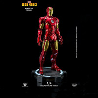 For Collection King Arts 1/9 Scale Alloy Diecast Doll Series DFS022 Action Iron Man Mark 4 For Fans Gift