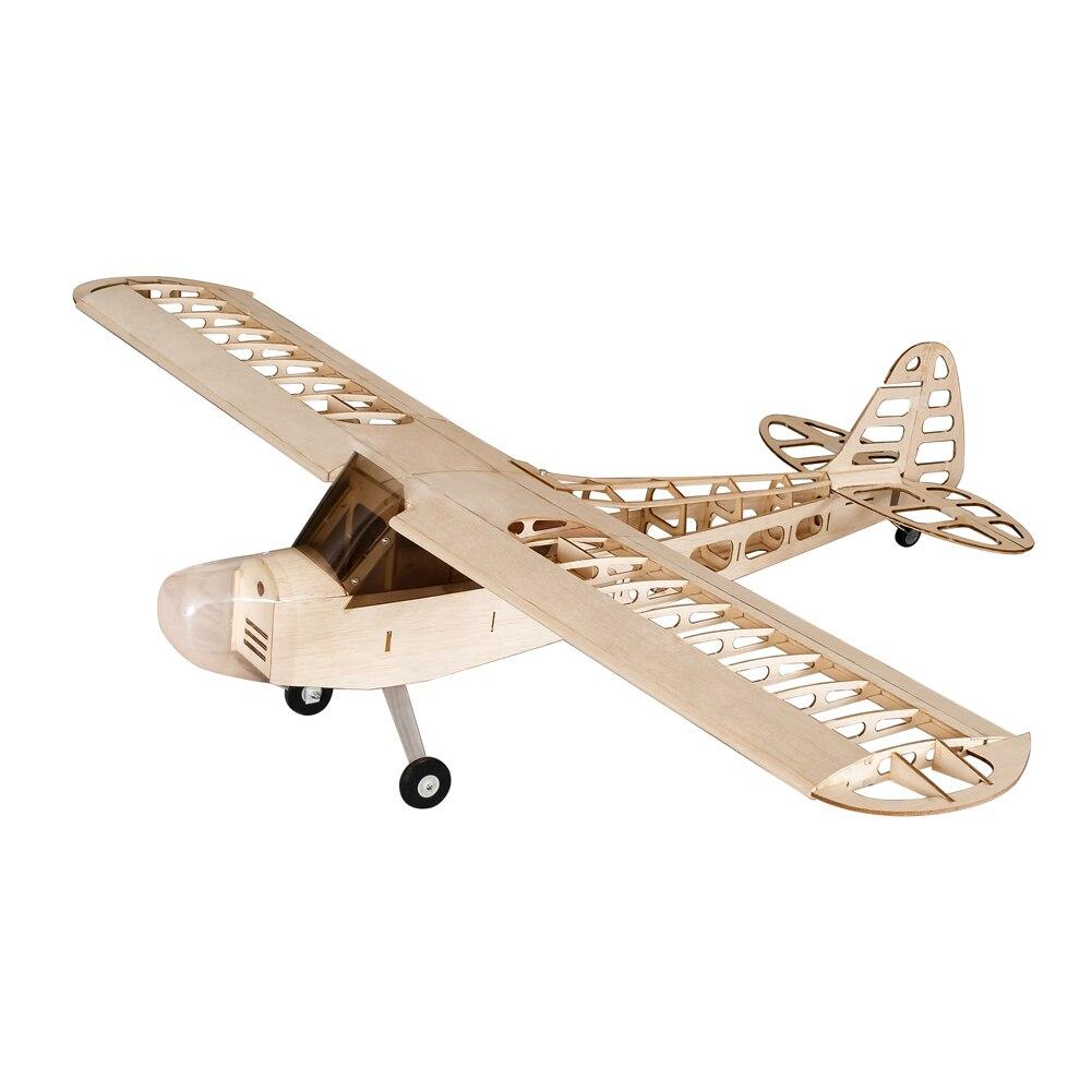 S0801 1,2 M J3 0,78 M/1,18 M Tiger Moth 1400mm Balsa Wood RC Aircraft Kit Motor ESC & Servo Для детей танцевальные крылья хобби домашний декор