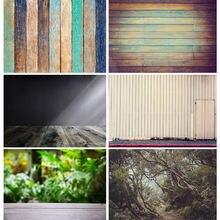 Виниловые Ретро фоны shuozhike с деревянной текстурой пейзаж