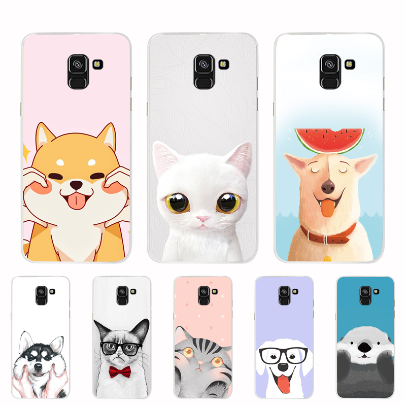 A9 2018 Case For Samsung Galaxy A9 2018 Cover Silicone TPU Phone Bags For Samsung A9 2018 A920F A920 SM-A920F Protective Cases