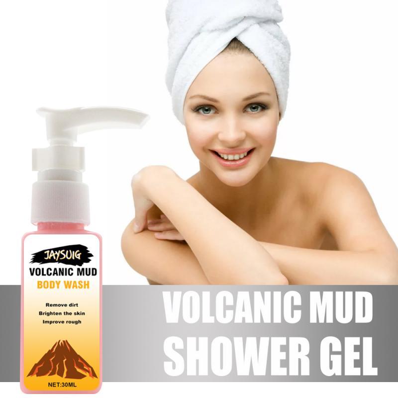 Able Volcanic Mud Body Wash Body Wash Whitening Deep Cleansing Skin Moisturizing Exfoliating Body Care Shower Gel 30ml Shower Gels