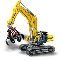 720pcs 2in1 Compatible Brand Technic Excavator car Model Building Blocks Brick Without Motors Set City Kids Toys for children