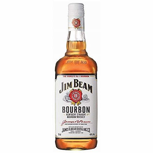 Jim Beam Bourbon Whiskey Straight Kentucky 70cl (paquete de 70 cl) image