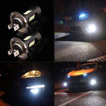 Ampoules CANBUS antibrouillard h16 h16eu, 2 pièces, blanc 5202 hb3 h7 h10 psx24w 21 LED 3030SMD, lampe de conduite DRL 6000K HID