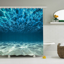 Digital 3D Printing Bath Curtain Polyester Waterproof Individuality Bathroom Partition Curtain Bathroom Shower Curtain novelty 3d end of the world digital printing shower curtain for bathroom