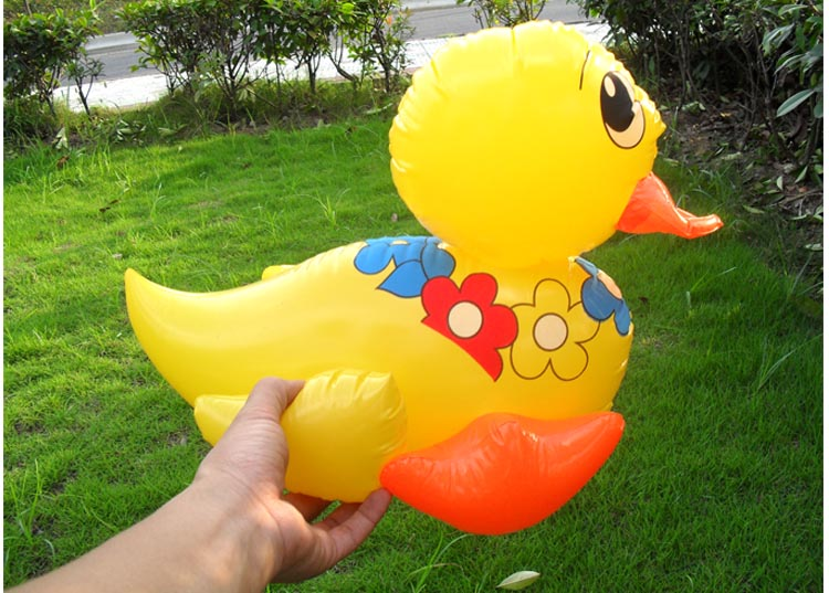 Inflatable Animal Trampoline ToyInflatables Trampoline Pvc > 3 Years Old Large Lovely Toy Inflatable Animals Rhubarb Duck