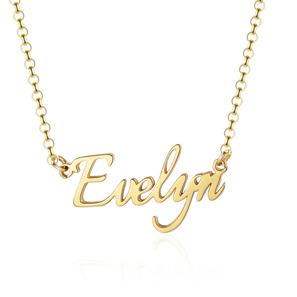 Hec801edb5cb24cedb7bd8ad44d2d9f91N 925 Sterling Silver Personalized Nameplate Letter Necklace Custom Made Name Pendant Russian Name Christmas Gifts for Girlfriend
