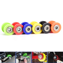 1PC Chain Roller Slider Tensioner Guide Pulley Dirt Pit Bike Motorcycle Durable 8mm