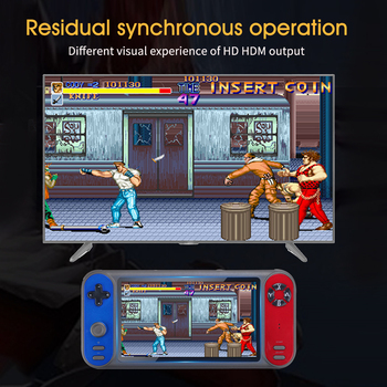 7inch Portable Support TF Card ABS 2 People Home 8 Simulators Retro Handheld Player HDMI USB Video Music Kids Gifts For PSP3000
