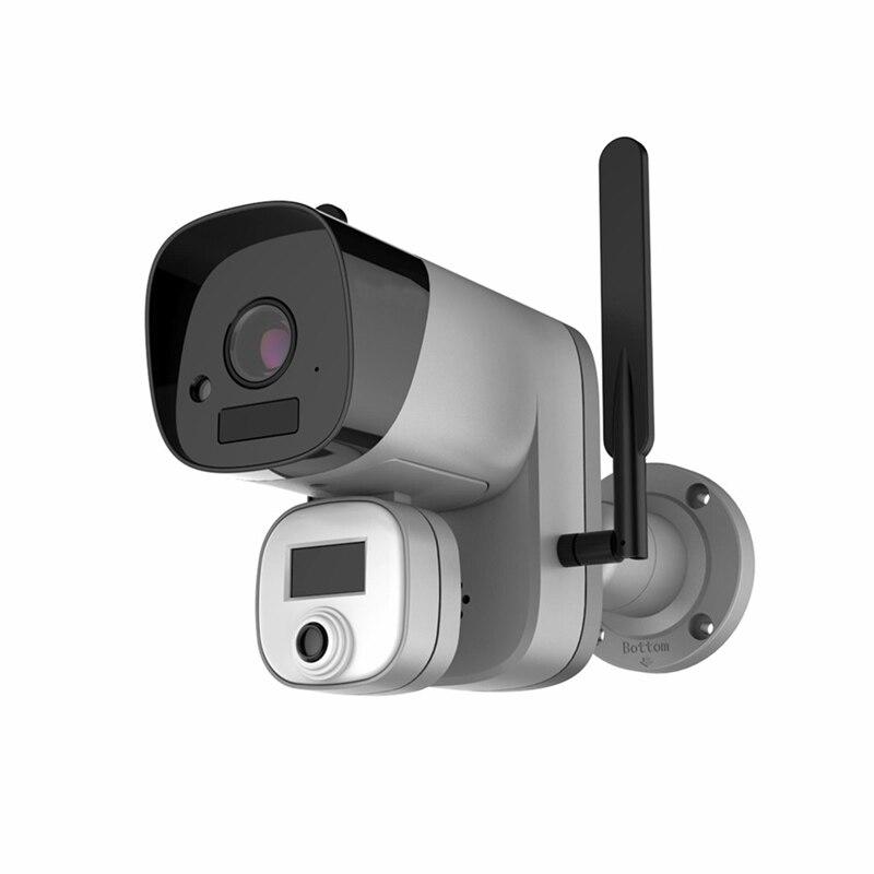 1080P Digital Screen Infrared Thermal Imager Camera Smart Body Temperature Measurement Fever High Temperature Alarm With Tripod