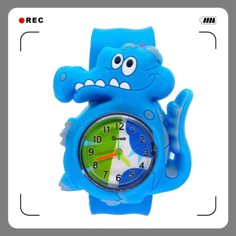 Children's Watches Boys Clock Quartz Girls Waterproof Kids Student Cute Fashion for Gift
