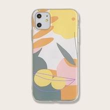 Прозрачный чехол для iphone с фруктовыми листьями подходит 7p/xr/x/xs/11/11
