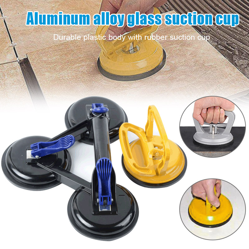 Vacuum Suction Cup Glass Lifter Vacuum Lifter Gripper Sucker Plate For Glass Tiles Mirror Granite Lifting New CLH@8