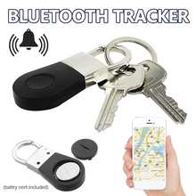 bluetooth Keychain Alarm Gps Tracker Smart Key Alarm Anti-Lost Key Finder Locator Device For Car Child Pet Elder Tracking Tracer(China)