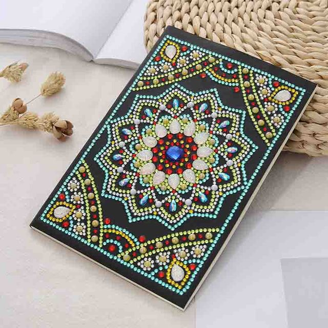 5D Diamond Painting Notebook Special Shaped New Arrivals Diamond Embroidery Sale A5 Diary Book Mosaic Pictures Gift