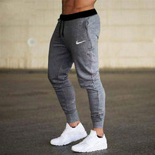2021 New Men's Pants Fitness Skinny Trousers Spring Elastic Bodybuilding Pant Workout Track Bottom Pants Men Joggers Sweatpants