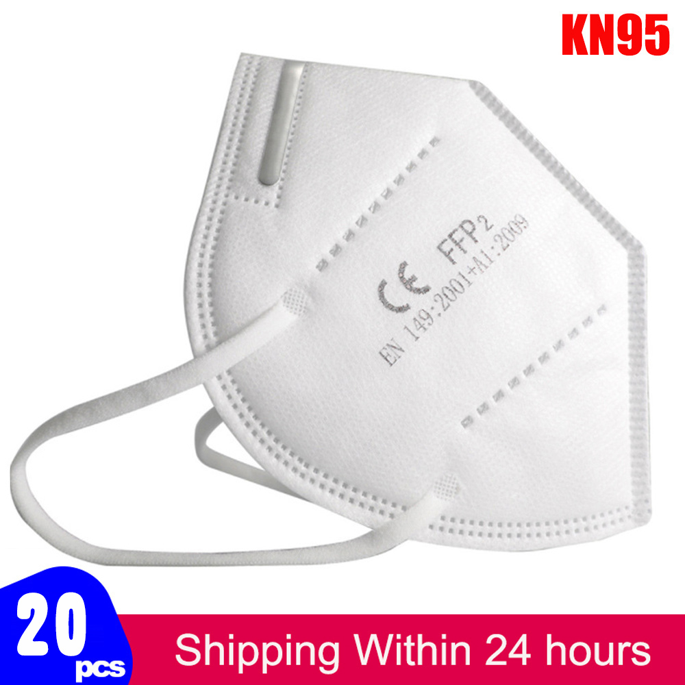 Fast Shiping KN95 Mask Ffp2 Protective Dust Face Mask Filter 5-Layer Mouth Masks Cover Reusable Respirator Pm2.5 Mask